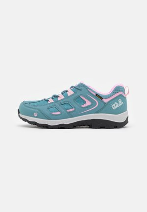 VOJO TEXAPORE LOW UNISEX - Hiking shoes - grey/pink