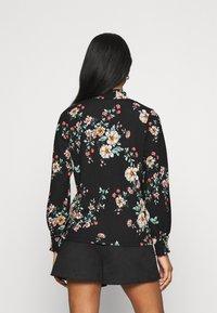ONLY - ONLZILLE NAYA SMOCK - Long sleeved top - black/femme - 2