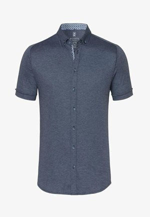 MODERN BD 1/2 - Shirt - blue piquee