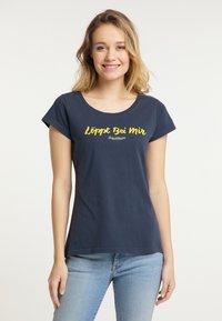 Schmuddelwedda - Print T-shirt - marine - 0
