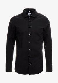 Seidensticker - SLIM FIT SPREAD KENT PATCH - Formal shirt - black - 4
