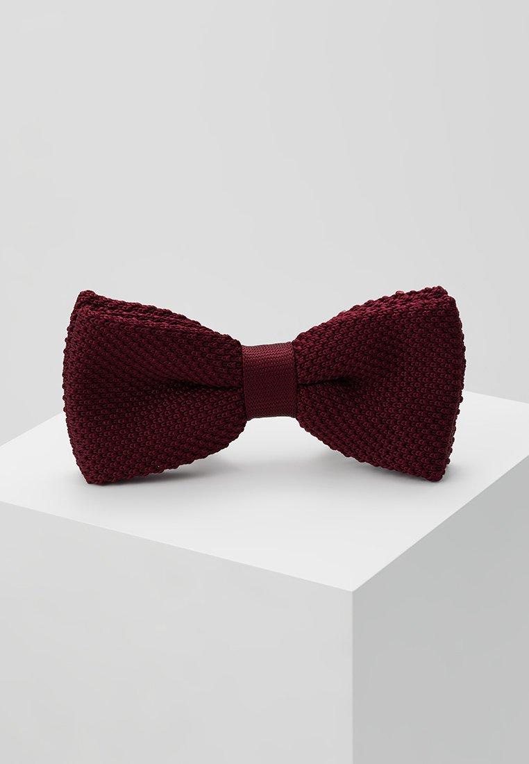 Twisted Tailor - JAGGER - Motýlek - dark burgundy