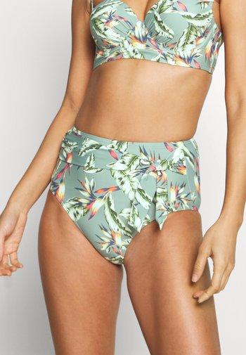 PANAMA BEACH HIGH BRIEF - Bikini bottoms - light khaki