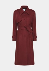 NADJA - Classic coat - sienna