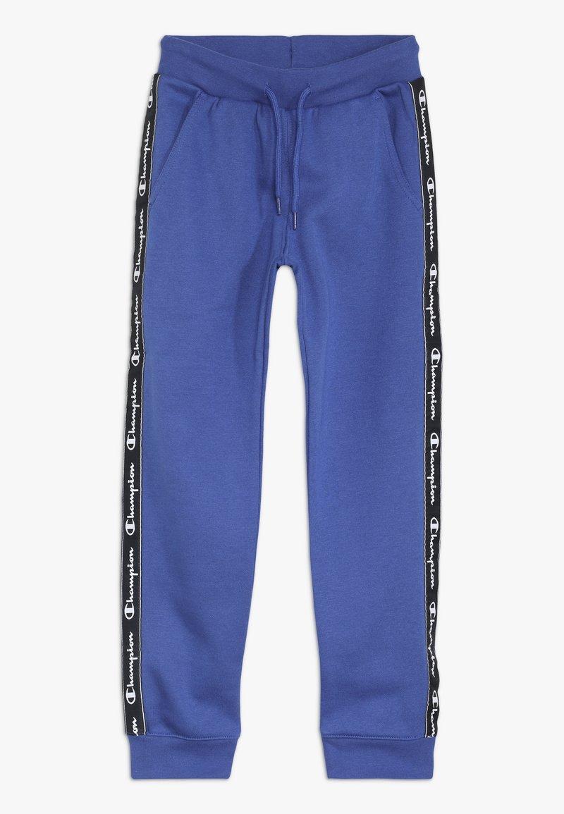 Champion - AMERICAN CLASSICS PIPING CUFF PANTS - Spodnie treningowe - royal blue