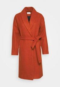 Kaffe - KABARLY COAT - Classic coat - dark chili - 4