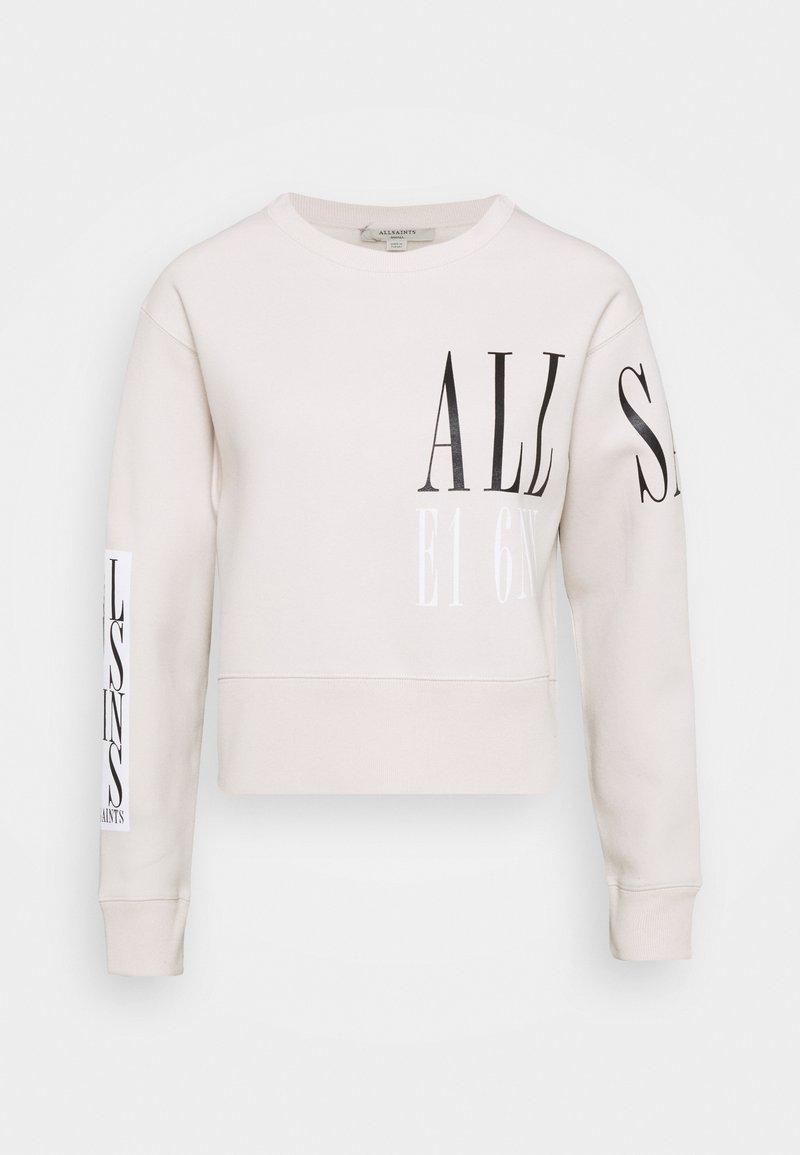 AllSaints - SEPARO EVA - Sweatshirt - ivory white