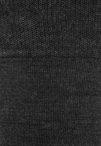 Falke - Knæstrømper - anthracite melange - 1