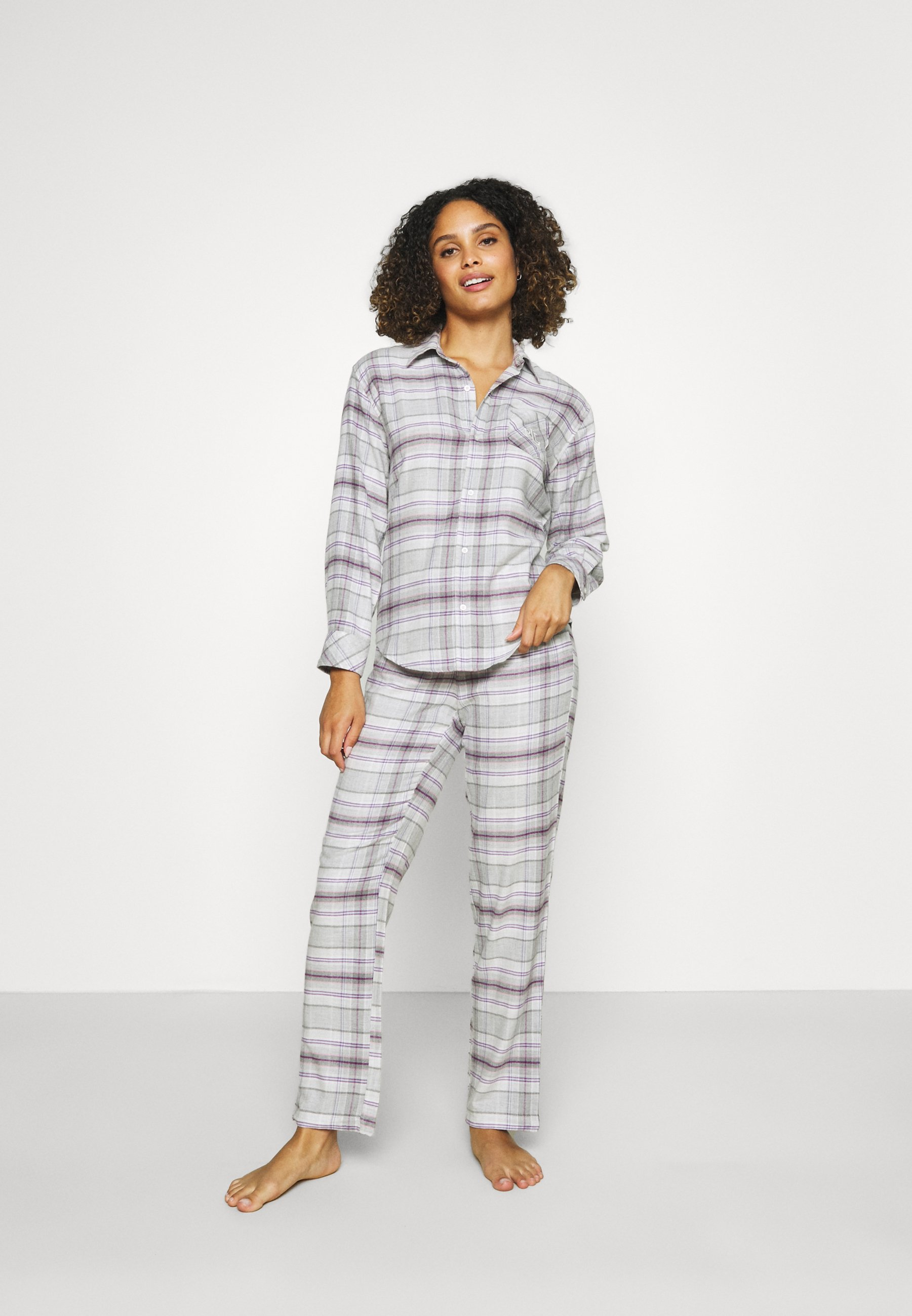 Damen BRUSHED  - Pyjama - grey