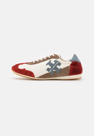 Sneakers laag - new ivory/light blue/berry