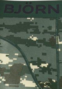 Björn Borg - DIGITAL WOODLAND SAMMY 3 PACK - Underkläder - duck green - 6