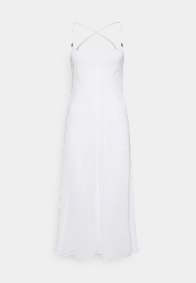 CORE TEXTURED DRESS - Beach accessory - classic white
