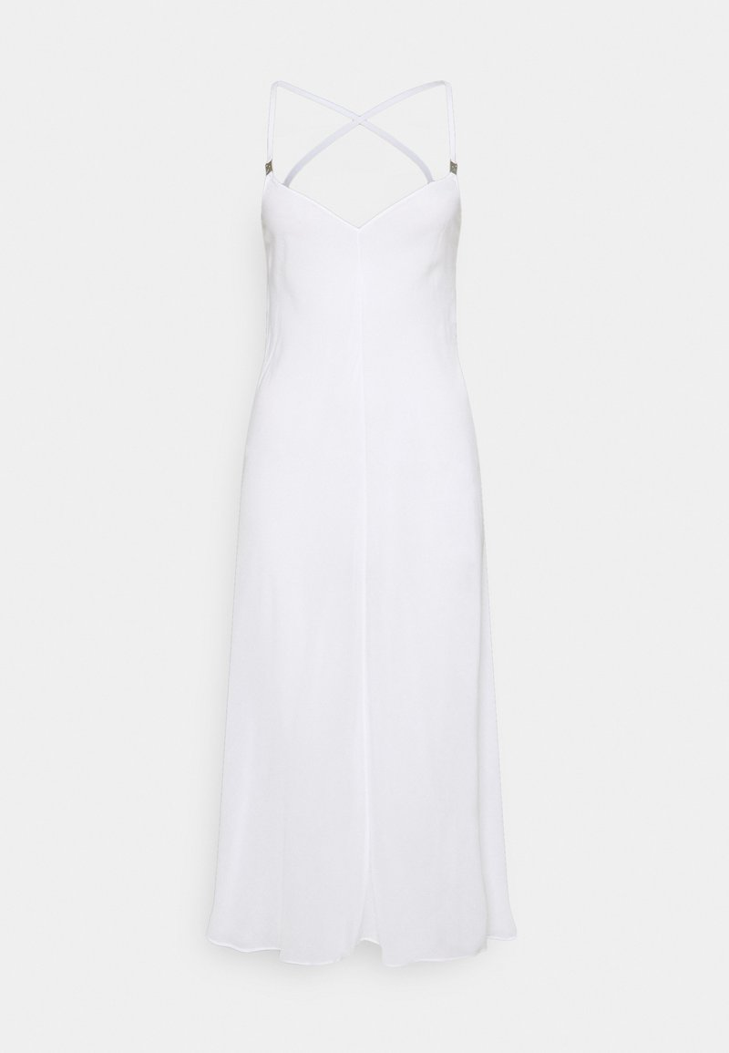 Calvin Klein Swimwear - CORE TEXTURED DRESS - Beach accessory - classic white