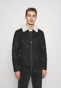 Solid - JACKET LINTON - Light jacket - dar grey - 0