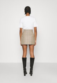 4th & Reckless - CHANCE SKIRT - Miniskjørt - beige - 2