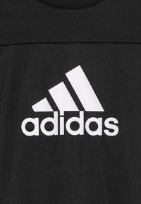 adidas Performance - TEE - Print T-shirt - black/white - 4