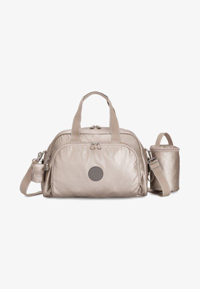 CAMAMA - Baby changing bag - metallic glow b