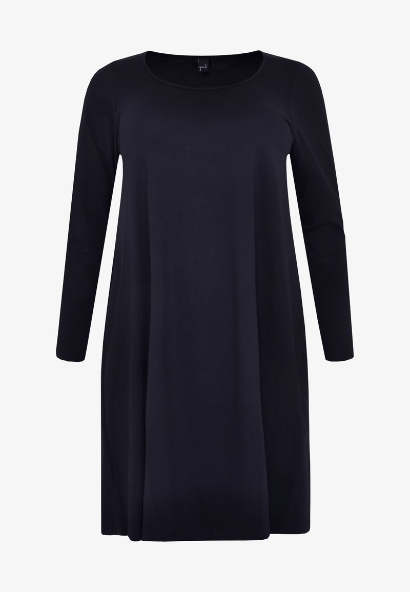 Yoek - Jersey dress - navy