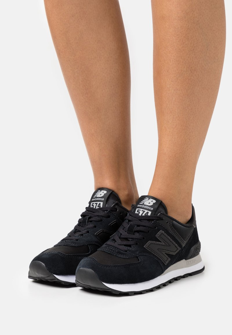 New Balance - WL574 - Sneakers - black/grey