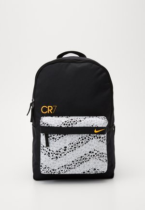 Rucksack - black/white/total orange