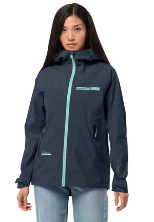 Hardshell jacket - midnight blue