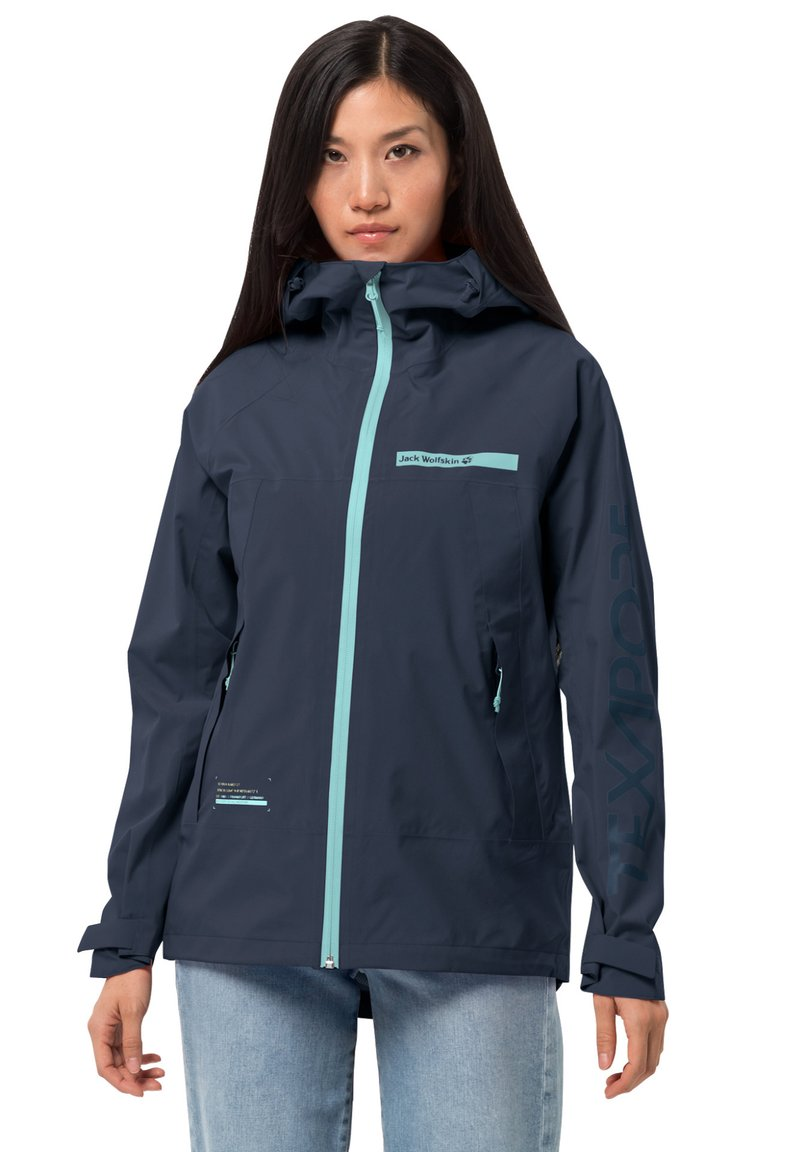 Jack Wolfskin - Hardshell jacket - midnight blue