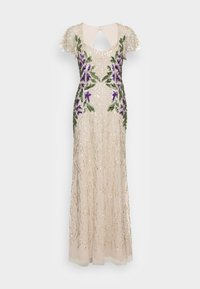 Adrianna Papell - BEADED LONG GOWN - Occasion wear - biscotti - 3