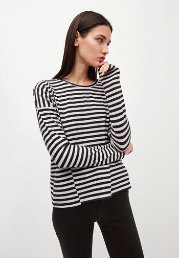 PALINAA  - Long sleeved top - kitt-black