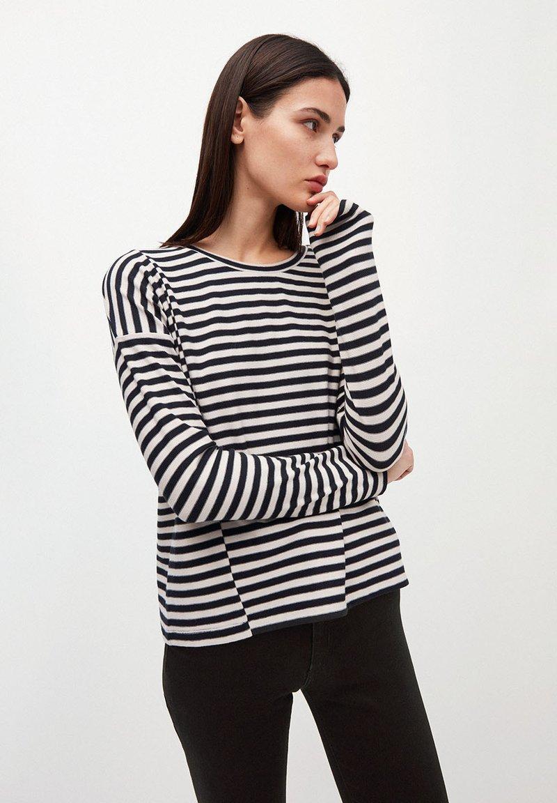 ARMEDANGELS - PALINAA  - Long sleeved top - kitt-black
