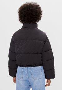 Bershka - Winter jacket - black - 2