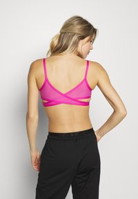 Nike Performance - INDY BRA - Sports bra - active fuchsia/black - 2