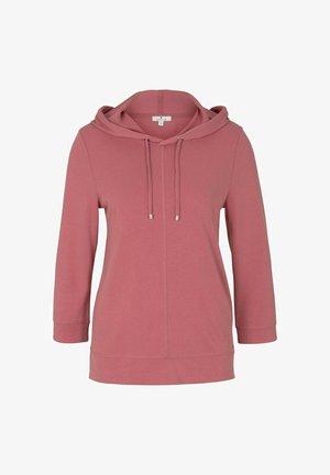 Hoodie - cozy pink
