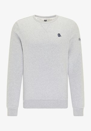 Sweatshirt - hellgrau melange