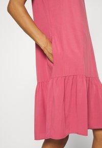 Marc O'Polo DENIM - DRESS FRILL SKIRT - Day dress - blackberry sorbet - 5