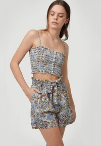 O'Neill - VACATION CO-ORD - Top - white with green - 2