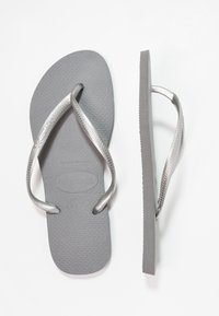 Havaianas - SLIM FIT - Pool shoes - grey/silver - 3