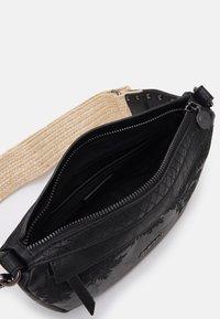 Desigual - BOLS LYRICS LUISIANA MEDIUM - Across body bag - black - 2