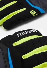 Reusch - BALIN RTEX XT - Rękawiczki pięciopalcowe - dark granite/safety yellow - 1