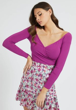 SONAY - Long sleeved top - violett