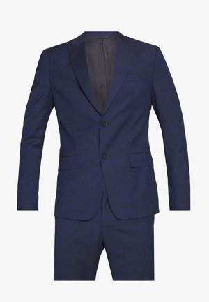 TROPICAL SLIM SUIT - Oblek - blue