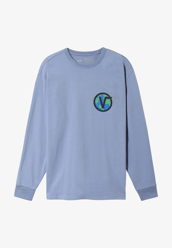 MN OFF THE WALL CLASSIC GLOBE LS - Long sleeved top - infinity