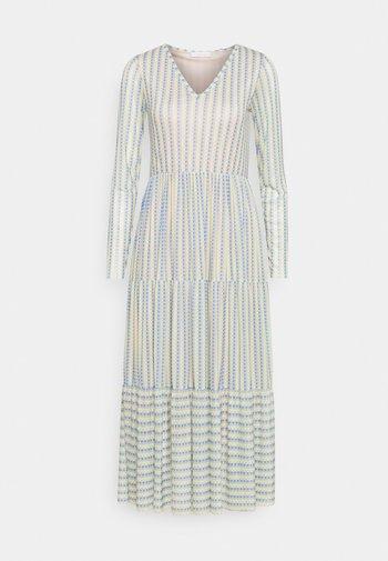 DRESS PRINTED - Denní šaty - beige