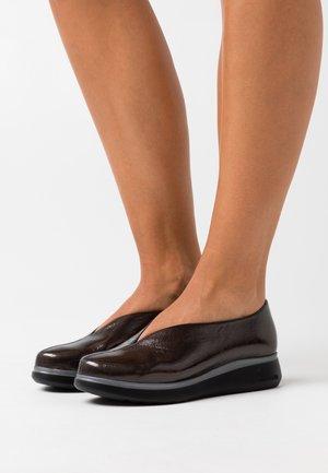 Scarpe senza lacci - gris