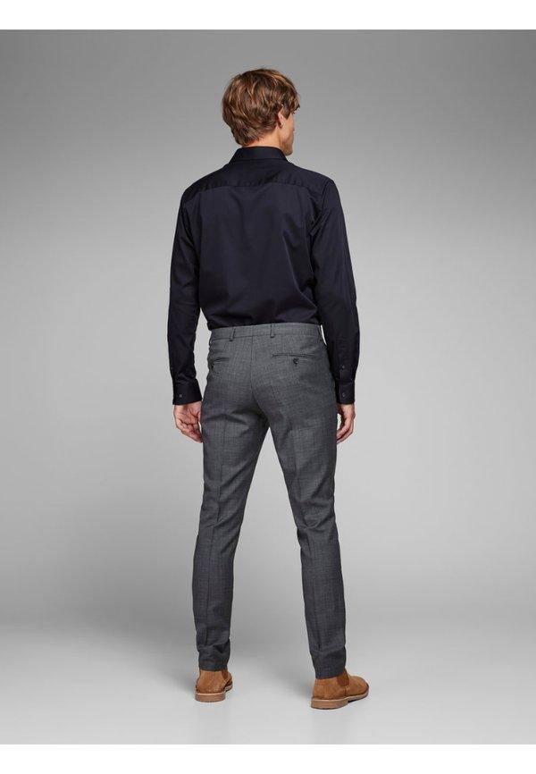 Jack & Jones PREMIUM JPRSOLARIS - Spodnie garniturowe - dark grey/ciemnoszary Odzież Męska OXEX