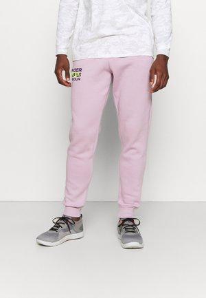 RIVAL SIGNATURE - Teplákové kalhoty - mauve