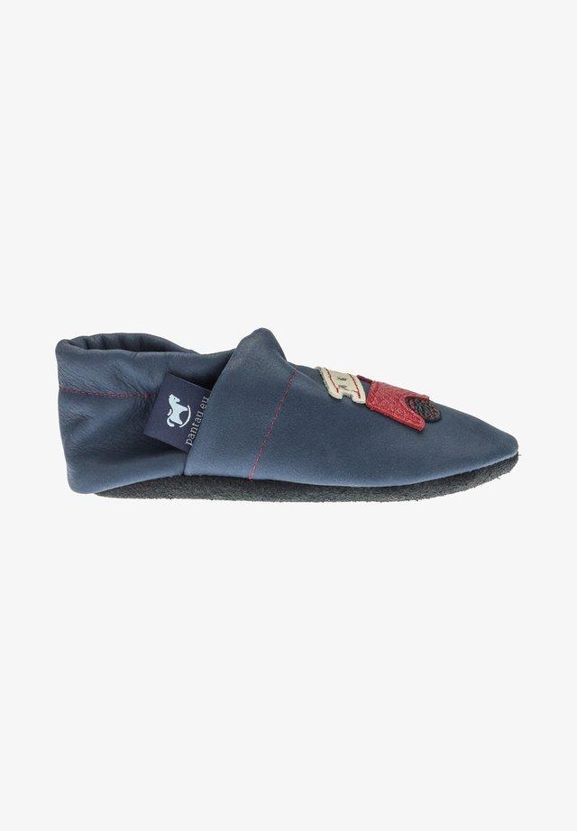 First shoes - blau / rot / beige