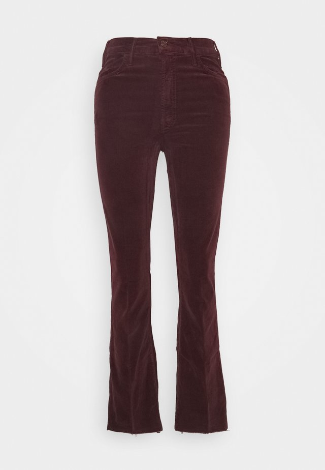 THE HUSTLER ANKLE FRAY ANKLE - Pantalon classique - grape