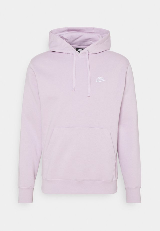 CLUB HOODIE - Jersey con capucha - iced lilac/white
