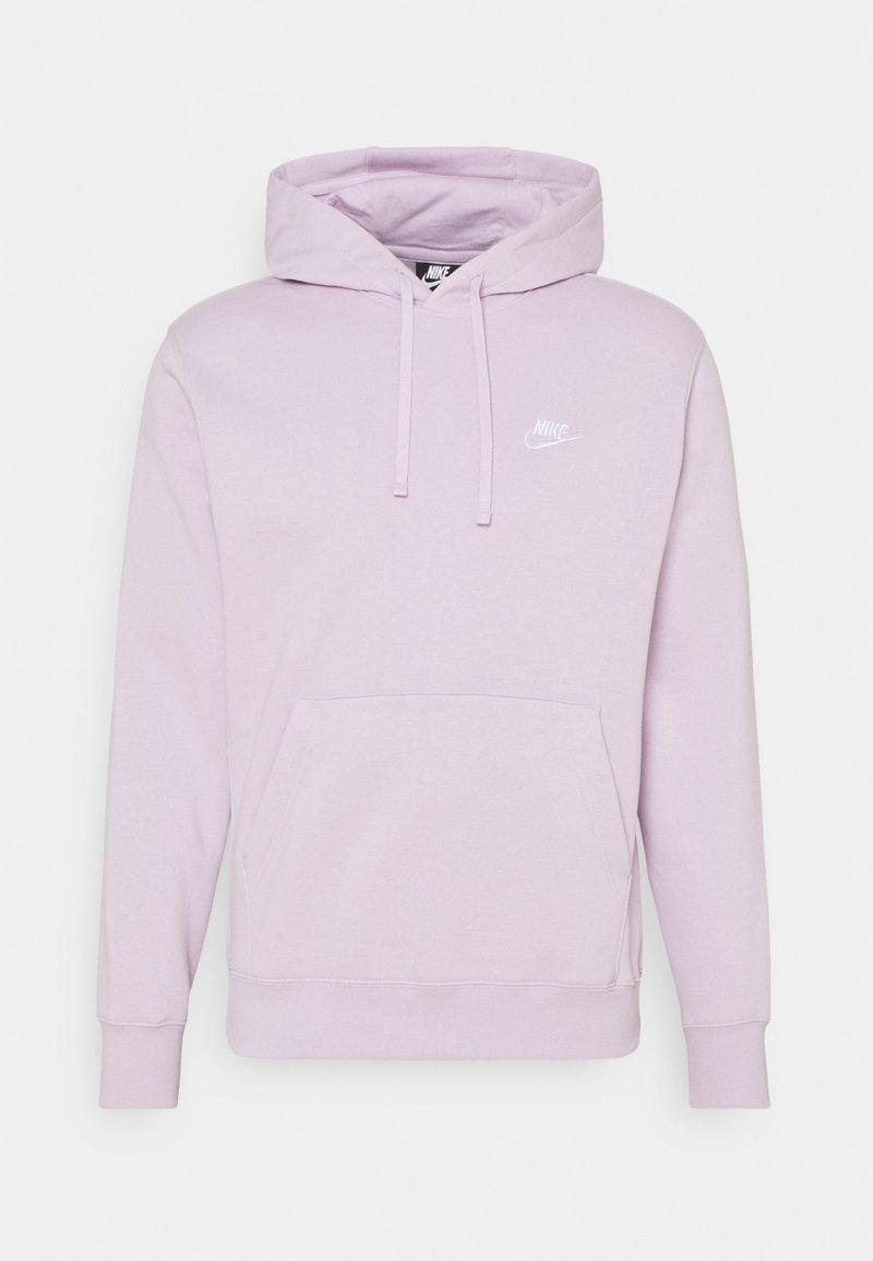 Nike Sportswear - CLUB HOODIE - Luvtröja - iced lilac/white