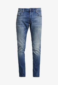 G-Star - 3301 SLIM - Jeansy Slim Fit - elto superstretch/vintage medium aged - 4